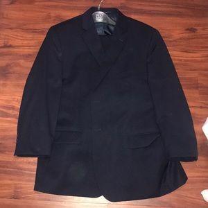 NWOT Navy Pronto Uomo Mens Wearhouse Suit 48r x 42